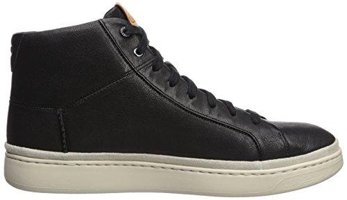 Sneaker Alta In Pelle Con Pizzo Cali Ugg Mens Nero