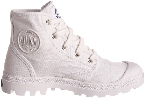 Palladium Vrouwen Pampa Hi Canvas Boot Wit / Surf