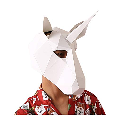 VIPbuy 3D Paper Mask Template Animal Head Mold