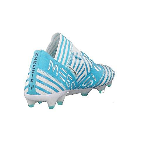 Adidas Mænd Nemeziz Messing 17.1 Fg Fodboldstøvler, 46 Eu Forskellige Farver (ftwbla / Tinley / Azuene)