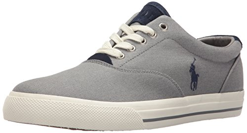 Trainers Mens Textile Vaughn Ralph Lauren Grey 78nxfBq