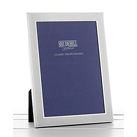 2 X 3 Plain Satin Silver Classic Photo Frame Gift Present 24123