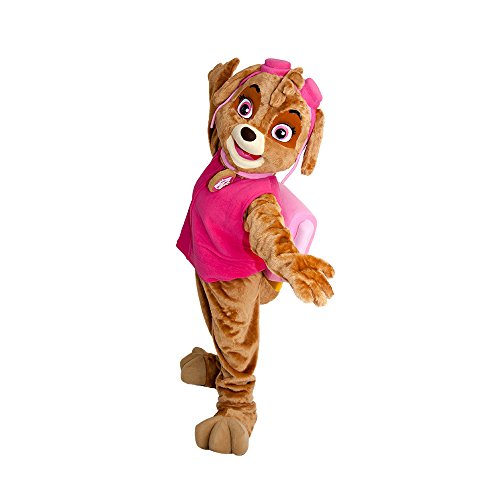 Dog Patrol Skye Pink Mascot Character Costume Party or Event Birthday Ideas Cosplay - Mascots Characters Costumes Halloween -