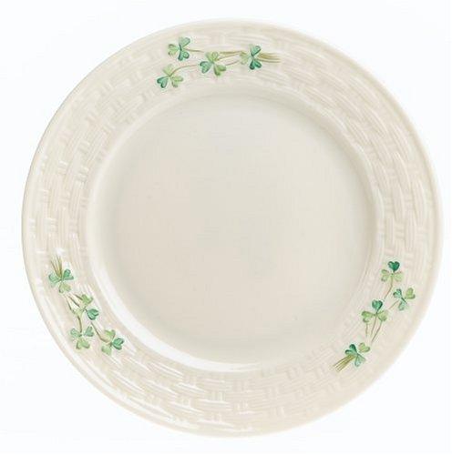 (Belleek Shamrock Salad Plate)
