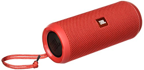 JBL Flip 3 Splashproof Portable Stereo Bluetooth Speaker (Red)