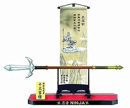 Ninja · NC-6: desplazarse y Arma: Lanza de cruz: Amazon.es ...