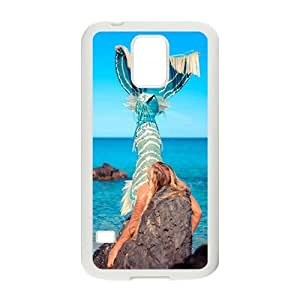 The Beautiful Mermaid Hight Quality Plastic Case for Samsung Galaxy S5