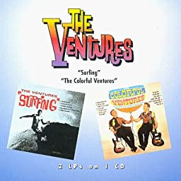 Surfing/The Colorful Ventures [2-on-1 CD]