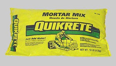 Quikrete Mortar Mix Bag 10 Lbs. by Quikrete
