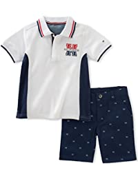 Tommy Hilfiger Baby Boys' 2 Pieces Polo Set-Printed...