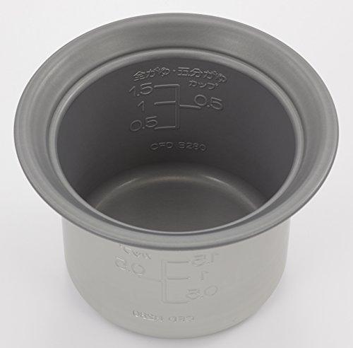 Tiger Electric rice porridge pan (0.75 go) CFD-B280-C beige Japan