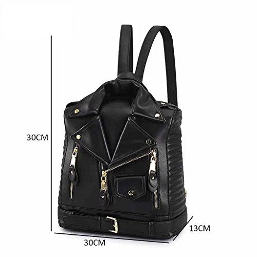 GUO - la nueva versión coreana 2017 de la hembra del bolso de hombro del bolso femenino de la manera simple locomotora de la manera de la calle de la PU bolso europeo y americano del ocio (30 * 13 * 3