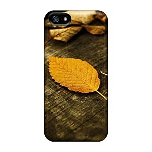 Hot Style GOb2939irmo Protective Case Cover For Iphone5/5s(autumn Leaves Golden Autumn Nature)