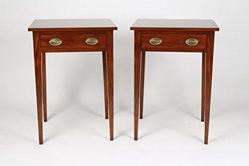 Mahogany nightstands pair