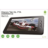 Glanzix 7 Android 4.0 Os 8 Gb 16:9 Cortex A8 5 Point Capacitive Touchscreen Tablet Pc Google 3g Wifi Mid, Support G-sensor Hdmi 1080p 8gb Nandflash