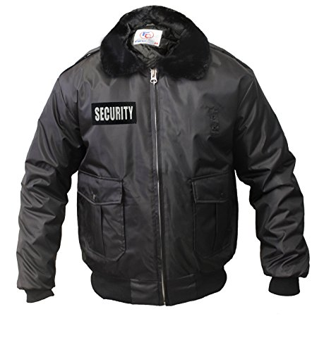 Watch-Guard Bomber Jacket with Reflective Security ID (Security Bomber)