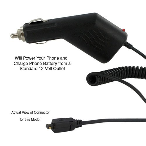 Palm CENTRO Cell Phone Battery Cellphone Car Charger - Replacement For Palm Treo 650 Car Charger
