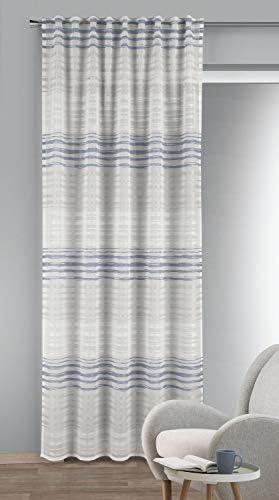 Albani – Sciarpa con passanti nascosti Lynn, 245 x 135 cm, colore: Rosa, Tessuto, Blu, 245x135cm