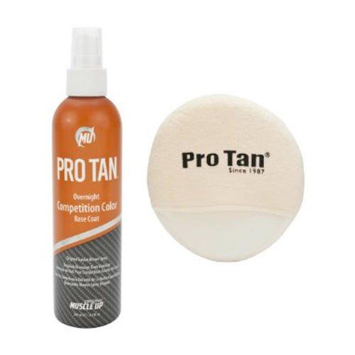 ProTan Overnight Competition Color w/Applicator - Suntan Brown Spray 8.5oz/250ml by ProTan