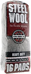 Homax Group Inc 4 Steel Wool Extra Coarse - Pads