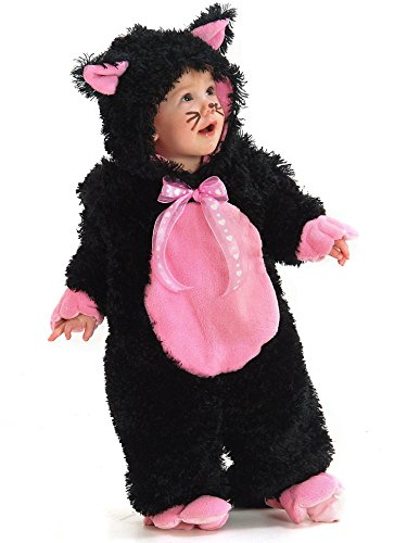 Kitty Soft Paws Costume (Toddler Sized Black & Pink Kitty Costume (18M-2T))