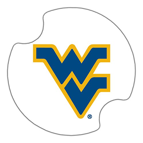 Thirstystone West Virginia University Car Cup Holder Coaster, 2-Pack