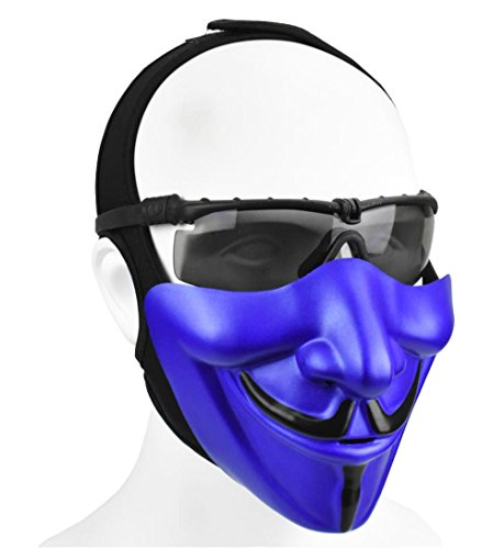 Jadedragon Half Face Cover Mask Lower Face Protective