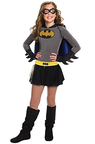 Rubie's DC Comics Child's Batgirl Costume Dress, Large ()