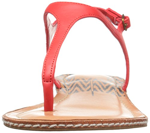 Womens Red Sandal Kimberly Sandal Vita Vita Dolce Womens Flat Kimberly Flat Dolce Orange 0qxHP