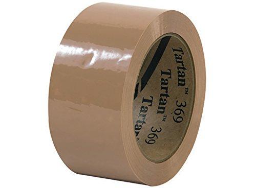 RetailSource T902369Tx36 3M 369 Carton Sealing Tape, 2