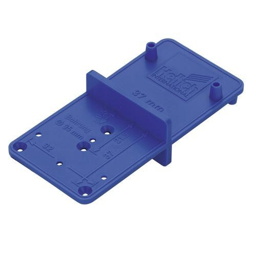 Jig Multiblue for Hinges, Mounting Plates, Connecting Fittings and Shelf Support by Hettich