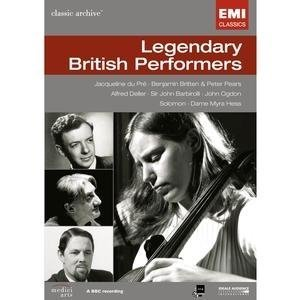 Legendary British Performers [DVD Video] by EMI Classics