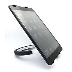 Xenda High Quality White Portable Fold-up Compact Tablet Holder Travel Stand For Samsung Galaxy Tab 7 P1000, Samsung Galaxy Tab 7.7, Samsung Galaxy Tab 3 7.0 Kids, Samsung Ativ Tab, Samsung Series 7 Slate (11.6)