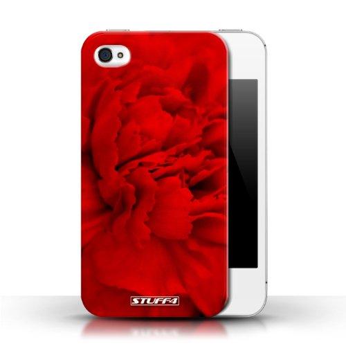 Etui / Coque pour Apple iPhone 4/4S / Pétales de Rose conception / Collection de floral Fleurs