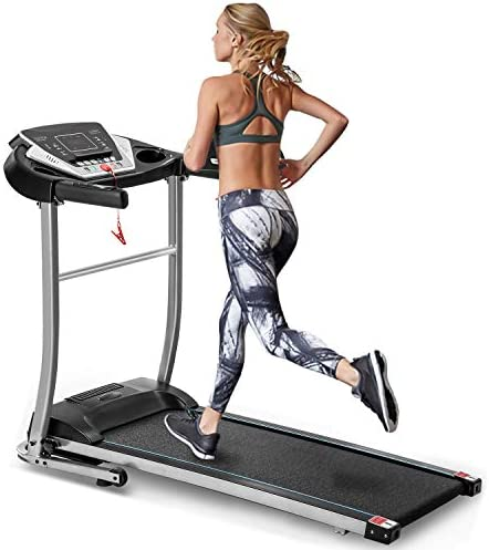 EAHOME Folding Treadmill Electric Treadmill Motorized Running Machine Easy Assembly Electric Treadmill