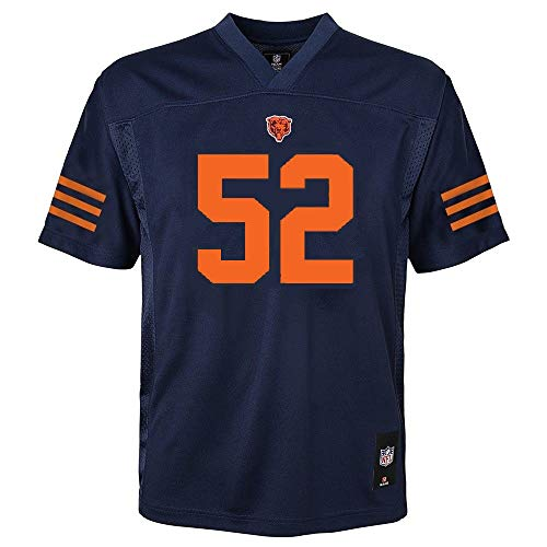 Outerstuff Khalil Mack Chicago Bears #52 Youth Mid-Tier Jersey Navy (Youth X-Large 18/20)