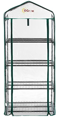 Portable Greenhouse (Ogrow Ultra-Deluxe 4 Tier Portable Bloomhouse)