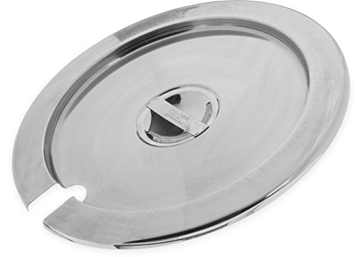 Carlisle 607711CS Stainless Steel 18-8 Slotted Cover, 11'' Diameter (Case of 6) by Carlisle