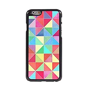 SOL Colorful Lattice Pattern Aluminum Hard Case for iPhone 6 Plus
