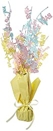 Baby Shower Gleam \'N Burst Centerpiece Party Accessory (1 count) (1/Pkg)