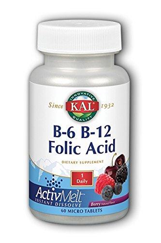 Kal B 12 Folic Acid ActivMelt product image