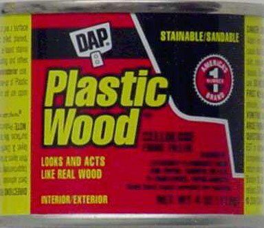 Dap 21400 Plastic Wood Cellulose Fibre Wood Filler, Light Oak, 4-oz. - Quantity 12 ()