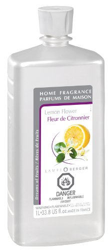 Lampe Berger Fragrance,  33.8 oz , Lemon Flower (Flower Home Fragrance Oil)