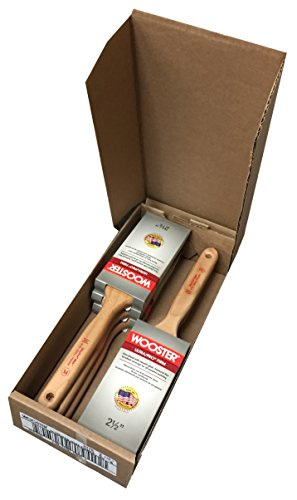 - Wooster 4175-2 1/2 Ultra/Pro Mink Flat Sash Brushes