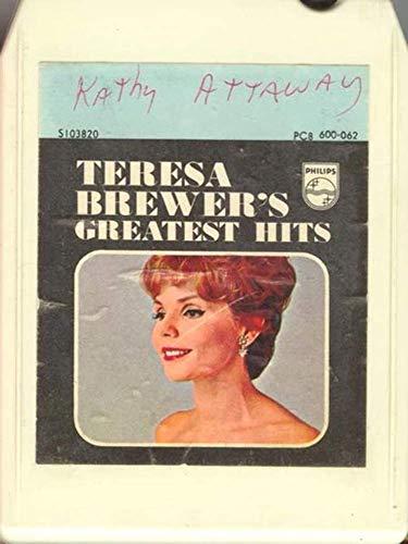 - TERESA BREWER & MILESTONE SINGERS: Teresa Brewer's Greatest Hits 8 Track Tape