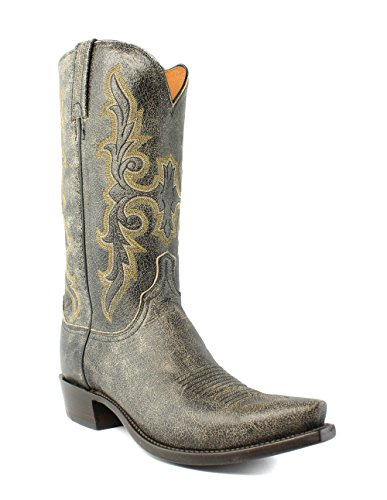 Lucchese N9630.53 Mens Brown Aviator Calf Leather Cowboy Western Boots 9.5 - Boots Aviator Mens