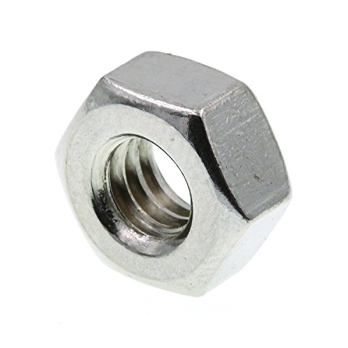 (Prime-Line 9073280 Finished Hex Nuts, 1/4 in.-20, Grade 18-8 Stainless Steel, 50-Pack)