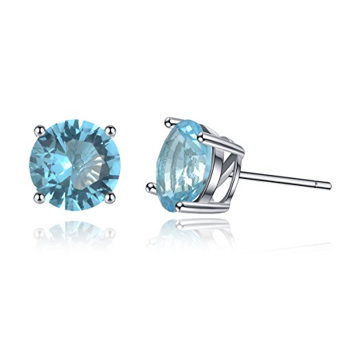 Sterling Silver Earrings Solitaire Zirconia product image