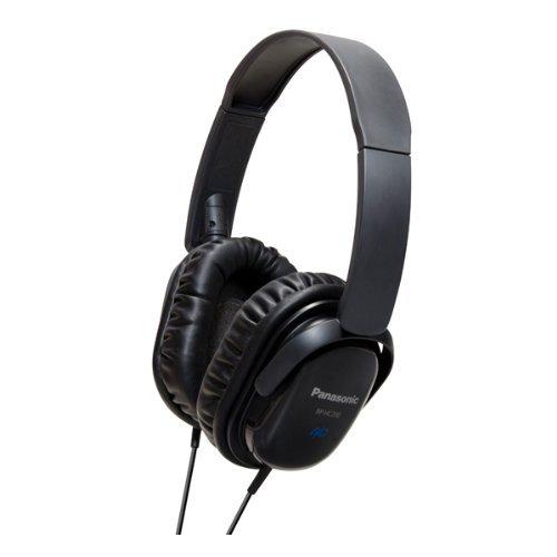 Panasonic- Rphc200ek Noise Cancelling Stereo Headphones - Black