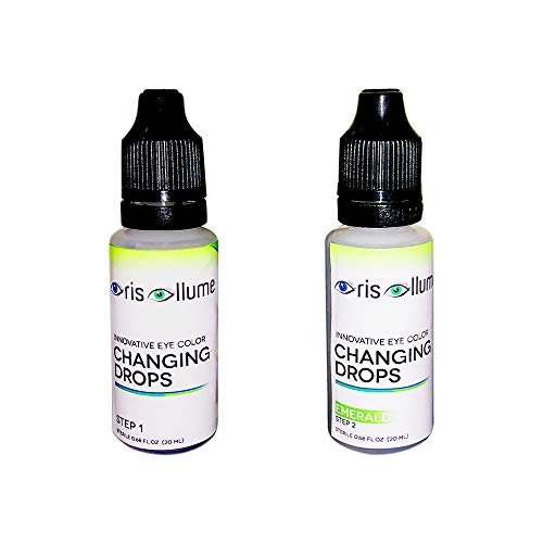 Iris Illume Eye Color Changing Drops in Emerald